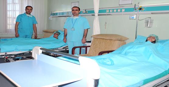 Şanlıurfa Eğitim ve araştırma hastanesi yanık ünitesinde bir ilk daha…