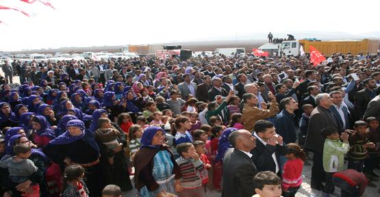 Şanlıurfa'da 8 bin Kişi Saadet partisine geçti