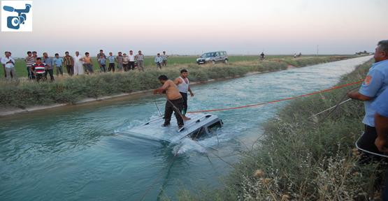 Şanlıurfa'da  Araç Kanal Uçtu; 1 kayıp
