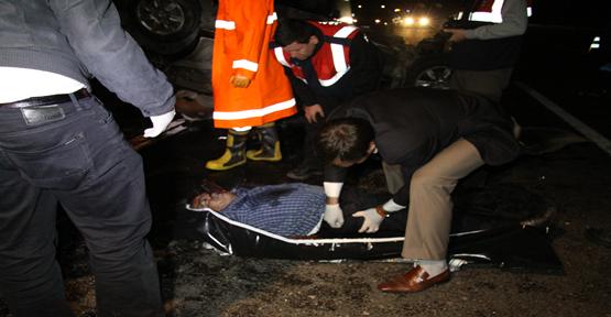 Şanlıurfa'da Feci Kaza: 2 Ölü 1 Yaralı