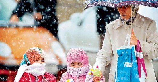Şanlıurfa'da Kar ve Don Uyarısı
