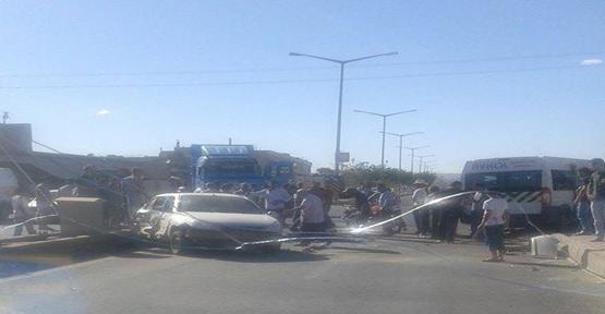 Şanlıurfa'da kaza, 1 kişi yaralandı