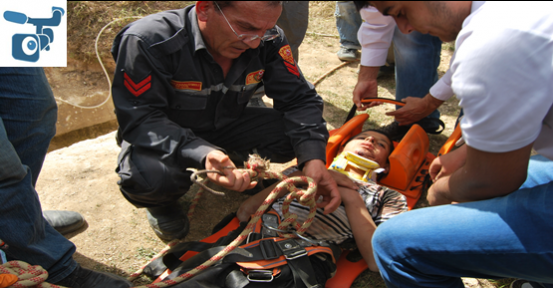 Şanlıurfa'da Kurtarma Operasyonu