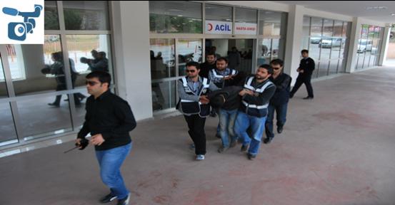 Şanlıurfa'da Mermer Hırsızları Yakalandı