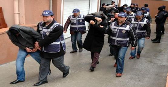 Şanlıurfa'da Operasyon: 70 Gözaltı