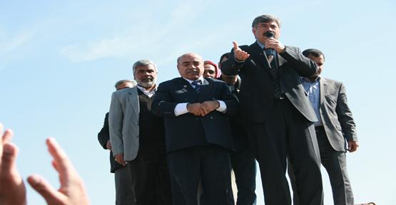 Şanlıurfa'da Saadet Partisinden Büyük Mitingi