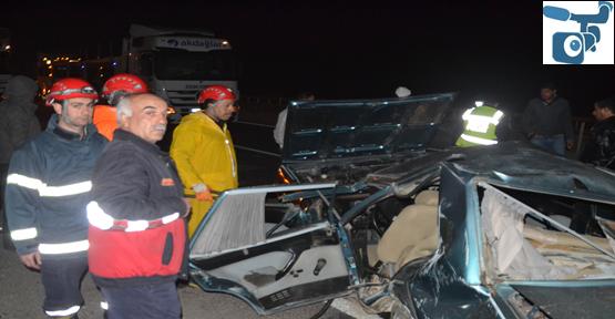 Şanlıurfa'da trafik kazası,1ölü, 3 yaralı