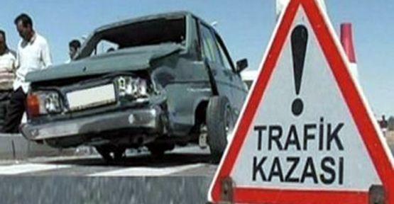 Şanlıurfa'da Trafik Kazası; 4 Yaralı