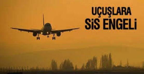 Şanlıurfa'da Uçaklara Sis Engeli