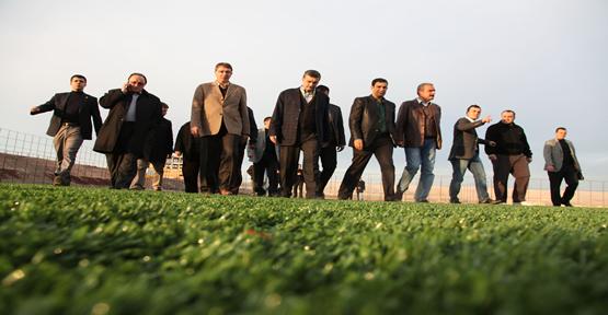 Şanlıurfaspor yeni tesislerde çalışacak