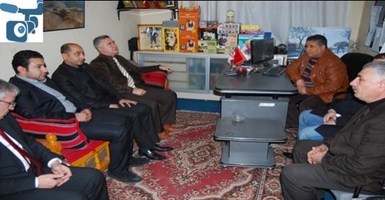 Saraçoğlu'ndan Sabah Gazetesine Ziyaret