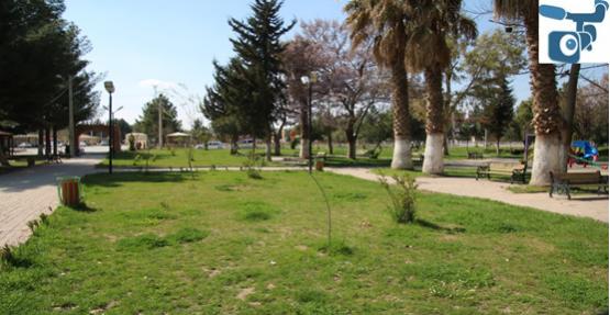 Şehidin ismi Harran'da park verildi