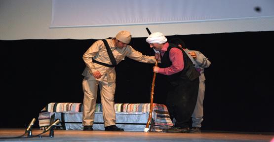 Şehit Kale Çanakkale Oyunu Duygulandırdı