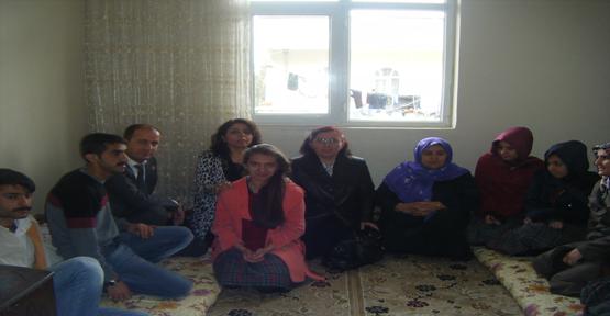 Şehitleri Anma Gününde Şehit Aileleri Unutulmadı