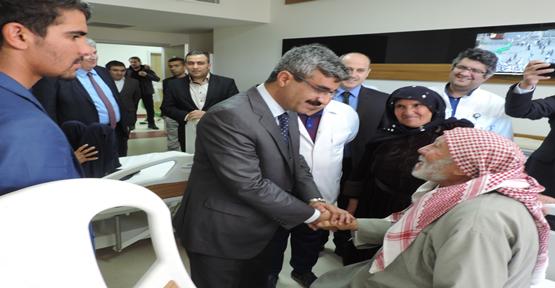 SGK Başkanı Metrolife hastanesini ziyaret etti