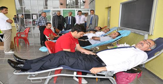 SGK Haftasında  Kan Bağışı
