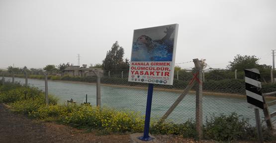 Sulama Kanallarında  Girmek 182 Lira