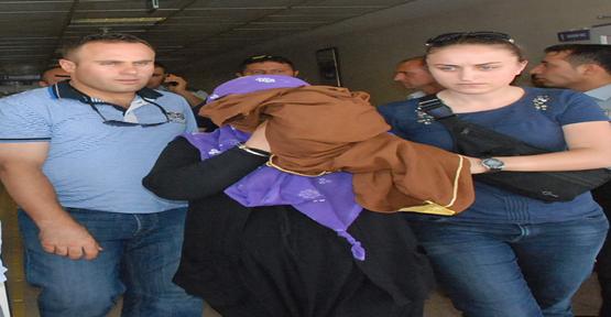 Suriyeli Bayan Kıskıvrak Yakalandı