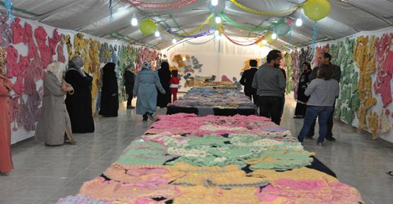 Suriyeli Bayanların El İşi Şanlıurfa'ya Taşınıyor.