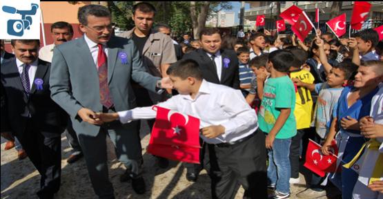 Suriyelilere eğitim veriliyor