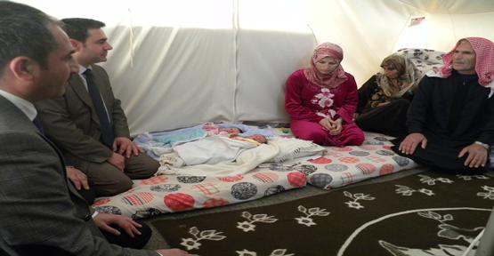Suriyelilerin Başbakan sevgisi