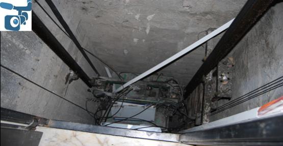 Tamirci 5. kattan asansör boşluğuna düştü