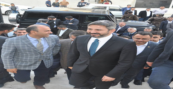 TBMM Başkan Vekili Ahmet Aydın'dan Bozova Memur Sen'e ziyaret