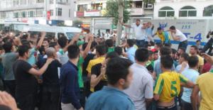 Taraftarlar Şanlıurfaspor için toplandı