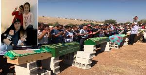 Trafik Kazası hayatını kaybeden 6 Kişinin Cenazesi Halfeti'de defin edildi