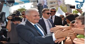 Başbakan Yıldırım İlk Ders Zilini...