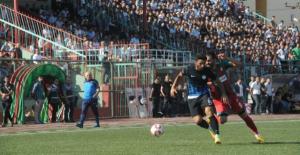 Cizrespor: 1 - 0 Karaköprü Belediyespor