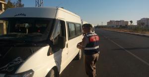 Urfa'da Öğrenci Servislerine Ceza Yağdı