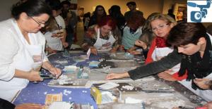 Mozaik Çalıştayı Müzedeki Atölye Çalışmasıyla Devam Etti.