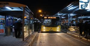 Otobüsler 24 Saat Çalışacak