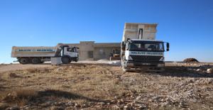 Haliliye'de, Kırsaldaki Yol Çalışmalarından Vatandaşlar Memnun