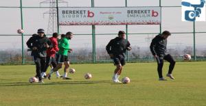 Şanlıurfaspor Kahramanmaraş maçı hazırlıklarına başladı