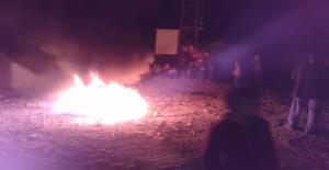Urfa'da Elektrik Kesinti Protestosu