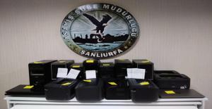 Şanlıurfa'da yasa dışı bahis operasyonu, 9 gözaltı