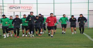 Şanlıurfaspor'da Kırklarelispor hazırlıkları başladı