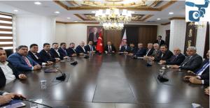 Urfa'da Cumhurbaşkanı ziyareti öncesi hazırlıklar toplantısı