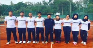 Harran Üniversitesi Tenis Takımı Türkiye 2.'si Oldu