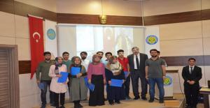 HRÜ Öğrencilerine Sertifikalı İlk Yardım Eğitimi Verildi