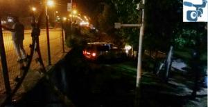 Urfa'da araç şarampole devrildi, 4 yaralı
