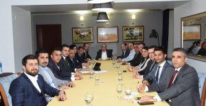 Fakıbaba Şanlıurfa Milletvekili adaylarıyla bir araya geldi