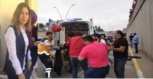Kaza geçiren AK Parti Şanlıurfa...