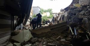 Urfa tarihi çarşıda iş yeri yıkıldı
