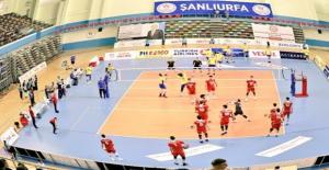 Urfa'da oynanan maçı Türkiye 3-0 kazandı