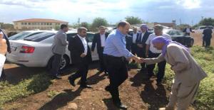 AK Vekil Gülpınar,Urfa'nın her yerinde destek arayışını sürdürüyor