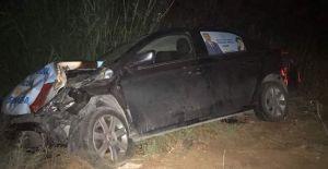 Urfa Milletvekili Adayı Kaza Geçirdi