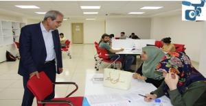 Demirkol, Sınavlara Hazırlanan Gençleri Ziyaret Ederek, Sohbet Etti
